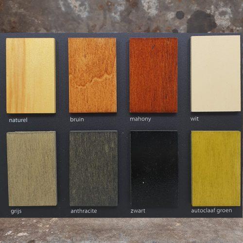 Buitenolie Goldline Kleurkaart